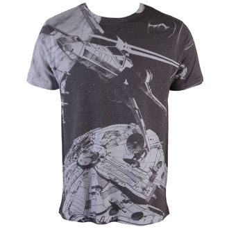 Herren T-Shirt  Star Wars - Space Battle (Dye Sub) - PLASTIC HEAD - PH8829