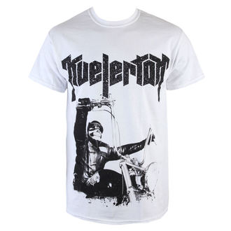 Herren T-Shirt  Kvelertak - Doom Biker - White - KINGS ROAD - 46492