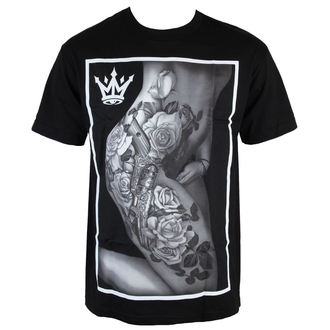 Herren T-Shirt  MAFIOSO - Body Art - Black - 53001-2