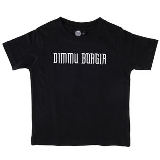 Kinder T-Shirt Dimmu Borgir - Logo - Black - Metal-Kids - MK229