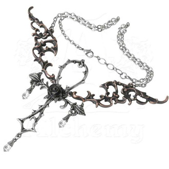 Kette mit Anhänger ALCHEMY GOTHIC - Wings Of Eternity - P748