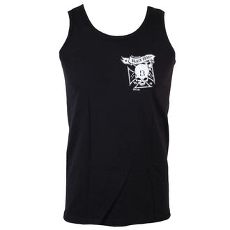 Tank Top/ Herren Unterhemd BLACK HEART - Skull Cross - Black - BH042