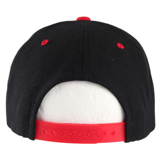 Kappe BLACK HEART - Snap Back - Blk/Red - BH019