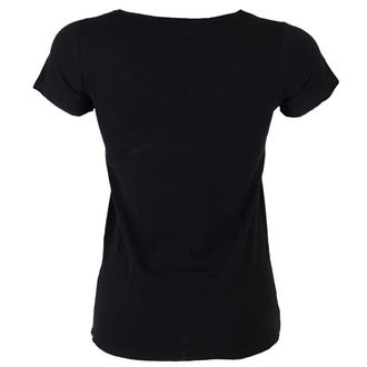 Damen T-Shirt Alice Cooper and Rear  - BLK - AMPLIFIED - AV601CRP