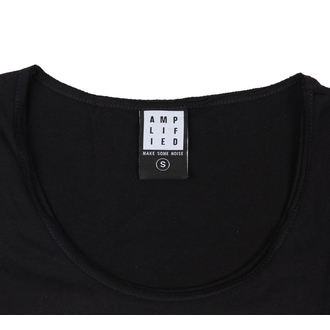 Damen T-Shirt Alice Cooper and Rear  - BLK - AMPLIFIED