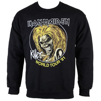 Herren Hoodie  Iron Maiden - Killers 81 - ROCK OFF - IMSWT04MB