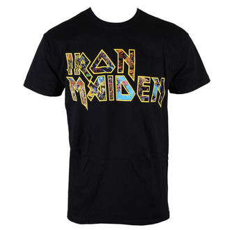Herren T-Shirt Iron Maiden - Eddie Logo - ROCK OFF - IMTEE45MB