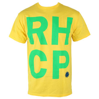 Herren T-Shirt  Red Hot Chili Peppers - Brazil Colors - BRAVADO - 14531255
