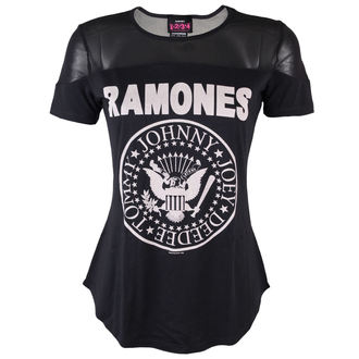 Damen T-Shirt Ramones - Sheer - AMPLIFIED - AV642RAM