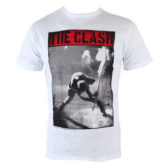 Herren T-Shirt  Clash - Calling - White - AMPLIFIED - AV210