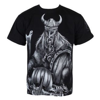 Herren T-Shirt  ALISTAR - Warrior & Drakkars - Black - 170
