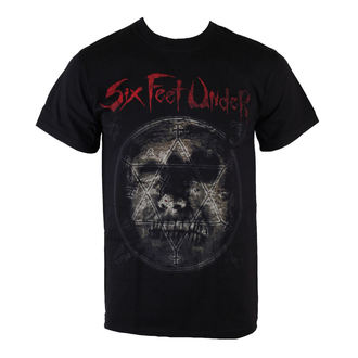 Herren T-Shirt Six Feet Under - Rotten Head - ART WORX - 187560