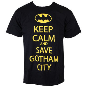 Herren T-Shirt Batman - Save Our Gotham City - Black - INDIEGO, INDIEGO, Batman