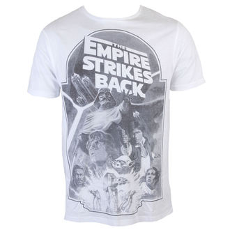 Herren T-Shirt Star Wars - Empire Strikes Back Sublimation - White - INDIEGO, INDIEGO, Star Wars