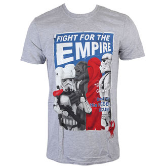 Herren T-Shirt Star Wars - Fight For The Empire - Charcoal - INDIEGO - Indie0254