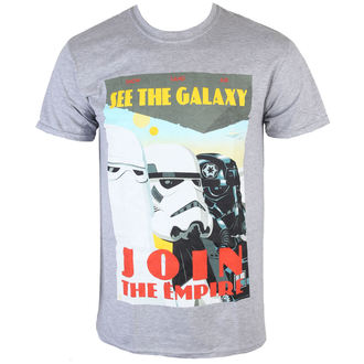 Herren T-Shirt Star Wars - Join The Empire - Charcoal - INDIEGO - Indie0255