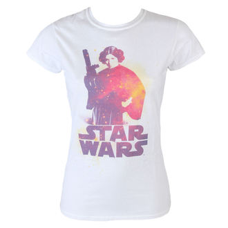 Damen T-Shirt Star Wars - Princess Lela - White - INDIEGO, INDIEGO