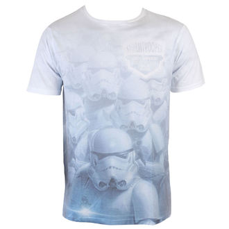 Herren T-Shirt Star Wars - Stormtrooper Sublimation - White - INDIEGO, INDIEGO