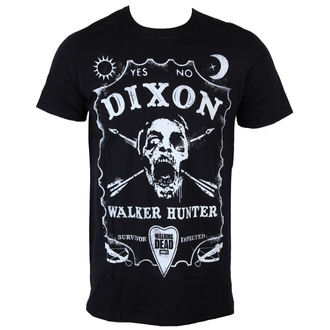 Herren T-Shirt The Walking Dead - Dixon Board - Black - INDIEGO, INDIEGO