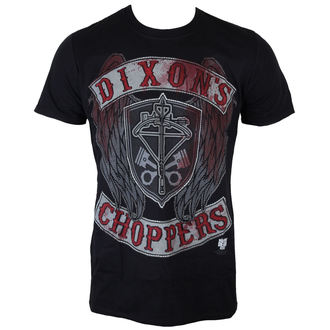Herren T-Shirt The Walking Dead - Dixons Choppers - Black - INDIEGO, INDIEGO