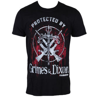 Herren T-Shirt The Walking Dead - Grimes & Dixon - Black - INDIEGO, INDIEGO