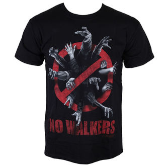 Herren T-Shirt The Walking Dead - No Wanderer - Black - INDIEGO, INDIEGO