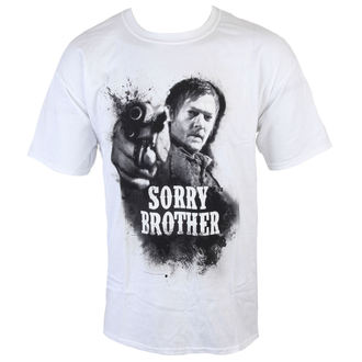 Herren T-Shirt The Walking Dead - Sorry Brother - White - INDIEGO, INDIEGO