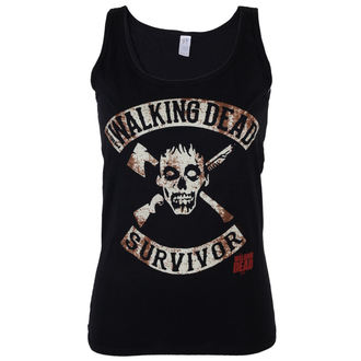 Tank Top/Shirt Damen The Walking Dead - Survivor - Black - INDIEGO, INDIEGO