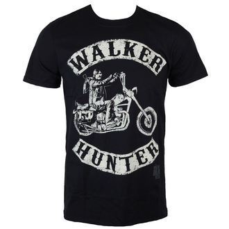 Herren T-Shirt The Walking Dead - Walker Hunter - Black - INDIEGO, INDIEGO