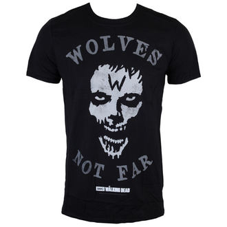 Herren T-Shirt The Walking Dead - Wolves Not Far - Grey - INDIEGO, INDIEGO