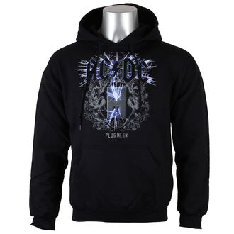 Männer Hoodie AC/DC - Plug me in - BLK - LOW FREQUENCY - ACHO05005