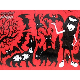 Mäppchen  EMILY THE STRANGE - Emily (E4082321) Row Of Strange Pencil Case