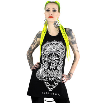 Tank Top/Shirt Damen KILLSTAR - Kali Muscle - Black - KIL217