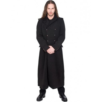 Männer Mantel BLACK PISTOL - Army Coat Wool - BLACK - B-7-07-064-00