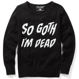 Pullover (Unisex)  KILLSTAR - So Goth - Black - KIL073