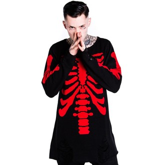 Pullover (Unisex)  KILLSTAR - Skeletor - Red - KIL079