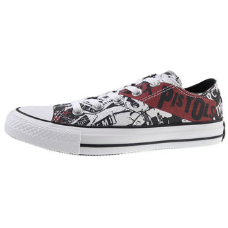 Schuhe CONVERSE - Sex Pistols - Chuck Taylor All Star - CTAS Ox White/Black, CONVERSE, Sex Pistols