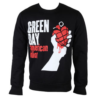 Männer Hoodie Green Day - American Idiot - ROCK OFF - GDSWT12MB