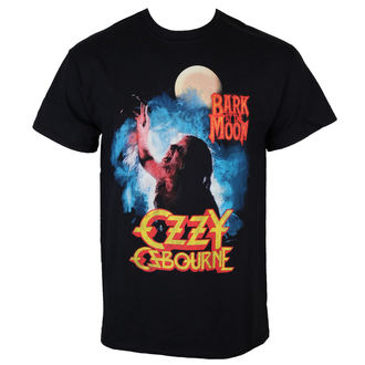 Männer Shirt Ozzy Osbourne - Bark At The Moon - ROCK OFF - OZZTS02MB