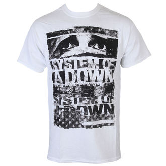 Männer Shirt System Of A Down - Torn - ROCK OFF - SOADTS01MW