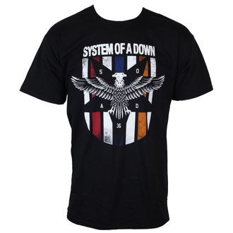 Männer Shirt System Of A Down - Eagle Colours - ROCK OFF - SOADTS02MB
