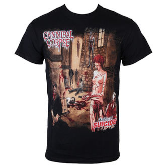 Männer Shirt Cannibal Corpse  - Gallery Of Suicide - JSR, Just Say Rock, Cannibal Corpse