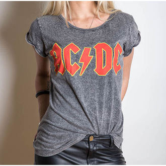 Damen T-Shirt AC/DC - Classic Logo - ROCK OFF - ACDCTS23LAW