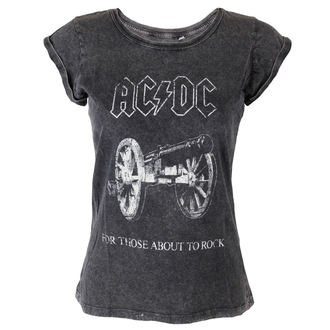 Damen T-Shirt AC/DC - About To Rock - ROCK OFF - ACDCTS25LAW