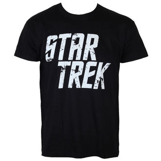 Herren T-Shirt Star Trek - Distressed Logo - Black - HYBRIS - CBS-1-ST010-H30-12