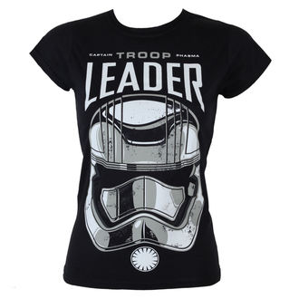 Damen T-Shirt Star Wars - Captain Phasma - Trupp Leader - Black - HYBRIS - LF-5-SW068-H60-5