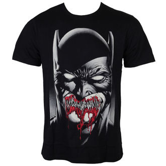 Herren T-Shirt Batman - Dark Smile - Black - LEGEND - MEBATMBTS037
