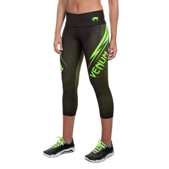 Hose Damen 3/4 (Leggings) VENUM - Razor - Black/Yellow, VENUM