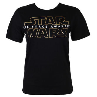Herren T-Shirt Star Wars - 7 Logo - Black - LEGEND - MESWSTOTS103