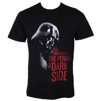 Herren T-Shirt Star Wars - Darth Vader You unterschätzen - Black - LEGEND - MESWVADTS054